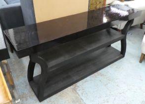 CONSOLE TABLE, 180.5cm x 46cm x 81cm, contemporary design.