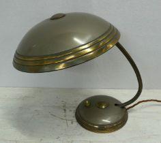 HELO LEUCHTEN DESK LAMP, 36cm H, vintage 1950's.