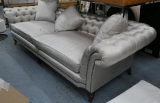 RALPH LAUREN HOME BROOK STREET TUFTED SOFA, in later upholstery, 290cm W.