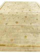 THE RUG COMPANY CARPET, 390cm x 300cm, silk and wool.