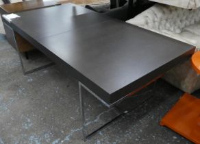 B&B ITALIA ATHOS TABLE, 200cm x 100cm x 73cm unextended, by Paolo Piva.