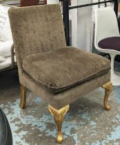 GEORGE SMITH SIDE CHAIR, 98cm H.