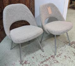 KNOLL SAARINEN EXECUTIVE CHAIRS, a pair, 78cm H, by Eero Saarinen. (2)