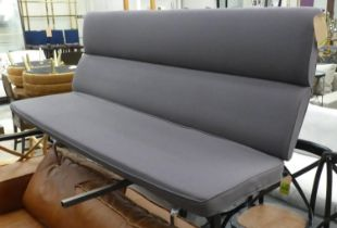 HERMAN MILLER EAMES COMPACT SOFA, by Charles and Ray Eames, 185cm H.