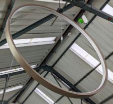 CEILING LIGHT, 92cm Diam, contemporary circular design.