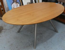DINING TABLE, contemporary design, 175cm x 110cm x 75cm.