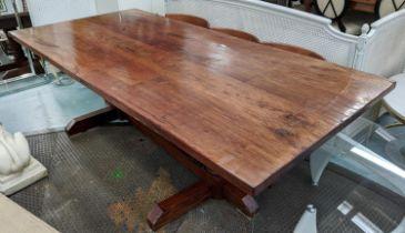 FARMHOUSE TABLE, 250cm x 114cm x 77cm H