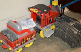 LARGE CHILDS TOY TRAIN WITH TRACK