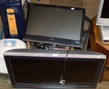 """SONY 32"""" LCD TV, SMALL SONY LCD TV & SONY MINI HIFI SYSTEM"""