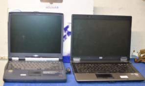 2 LAPTOP COMPUTERS - AS SEEN