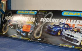 2 BOXED SCALEXTRIC SETS