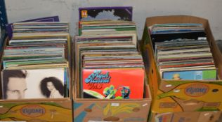 3 BOXES WITH ASSORTED LP RECORDS