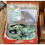PAIR OF FOOTBALL BOOTS SIGNED BY LEIGH GRIFFITHS