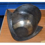 ITALIAN MORION OF SPANISH FORM FROM GILCHRIST CASTLE, MOST LIKELY 16TH/17TH CENTURY