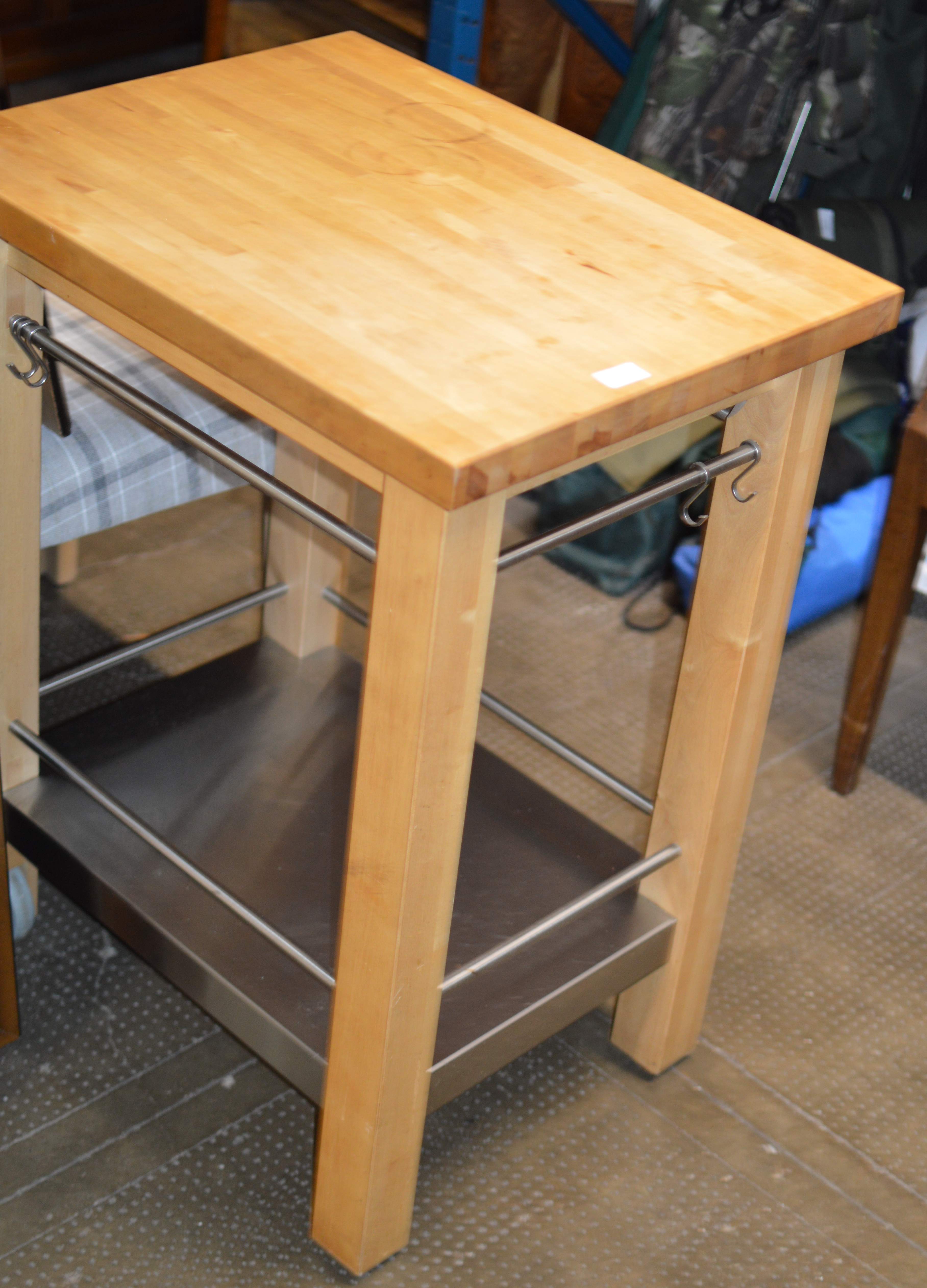 BUTCHERS STYLE KITCHEN TABLE