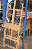 VARIOUS WOODEN EASELS