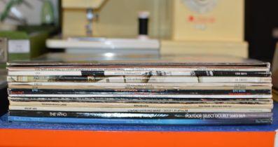QUANTITY VARIOUS LP RECORDS, DAVID BOWIE, THE BYRDS ETC