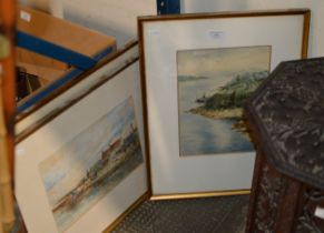 3 VARIOUS FRAMED WATERCOLOURS BY CLARK