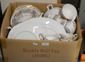 BOX WITH QUANTITY PARAGON TEA & DINNER WARE