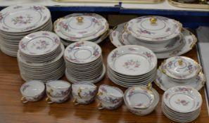 QUANTITY LIMOGES TEA & DINNER WARE