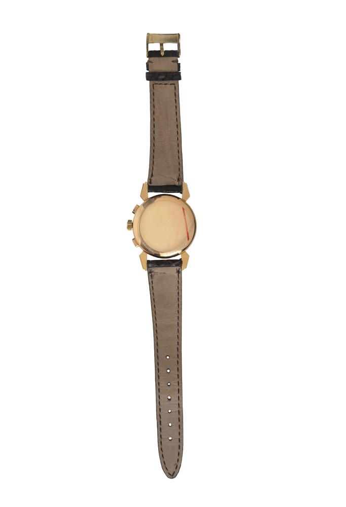 Dodane. Orologio da polso militare francese in oro rosa 18K - Image 3 of 3