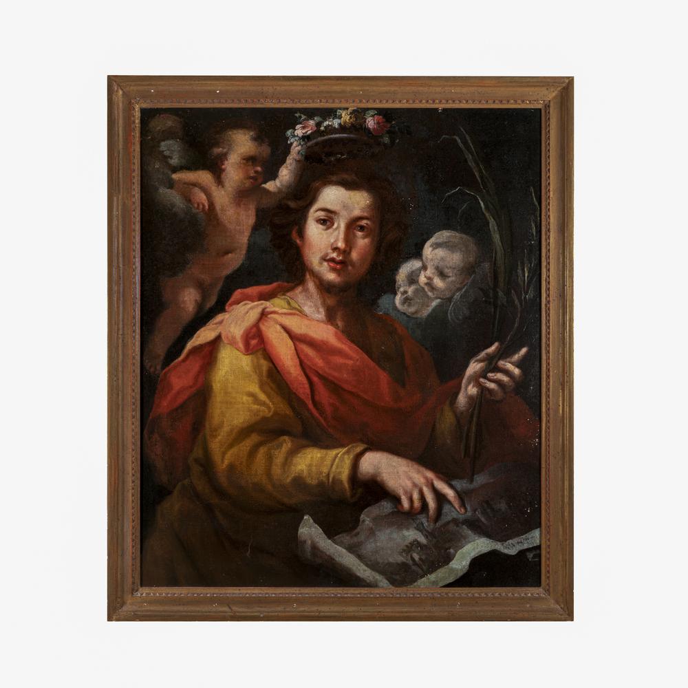Bernardo Strozzi detto Il Prete Genovese (Genova 1581/82 - Venezia 1664) cerchia/seguace - circle of