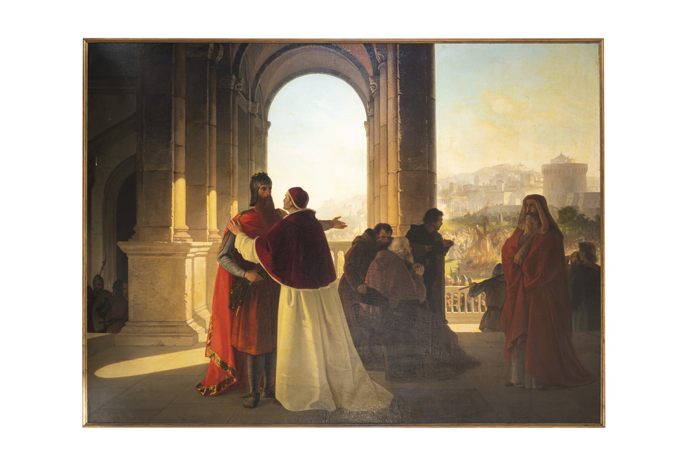 Achille Lampugnani (Milano 1836 - Novara 1904) attribuito