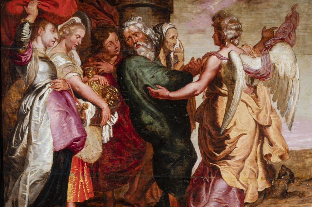 Peter Paul Rubens (Siegen 1577 - Anversa 1640) cerchia/seguace - circle of/follower - Image 2 of 2