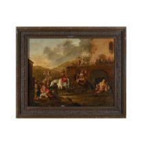 Pieter Van Laer detto il Bamboccio (Haarlem 1599 circa - 1642) attribuito-attributed