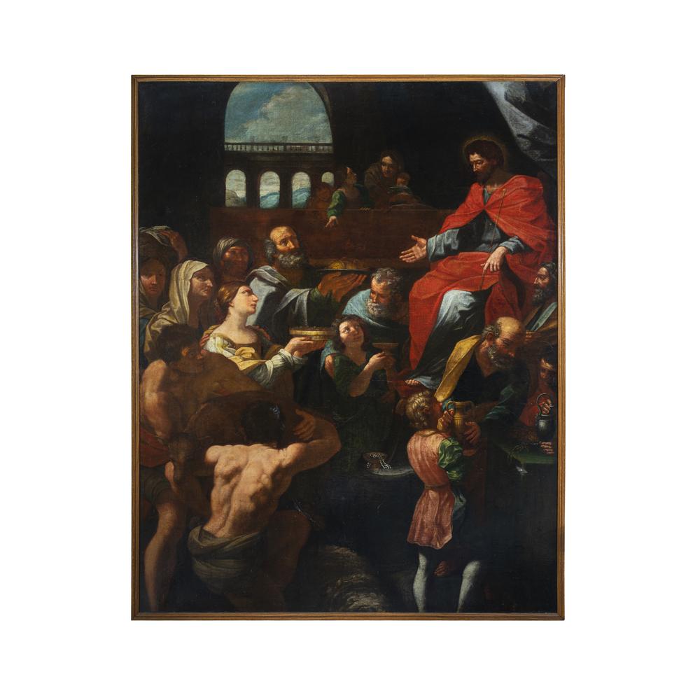 Guido Reni (Bologna 1575 - 1642) replica di bottega/seguace - workshop replica/follower