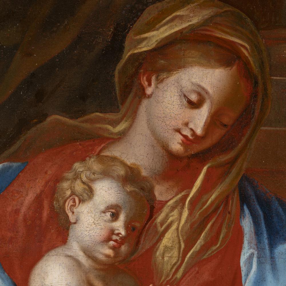 Francesco de Mura (Napoli 1696 - 1782) bottega - workshop - Image 2 of 3