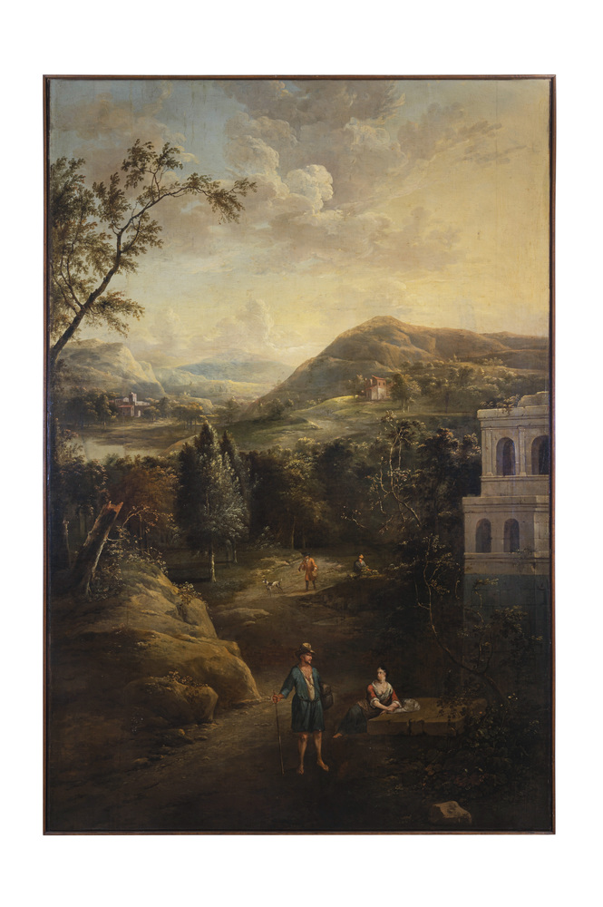 Paolo Anesi (Roma 1697 - 1773) cerchia di-circle of - Image 2 of 8
