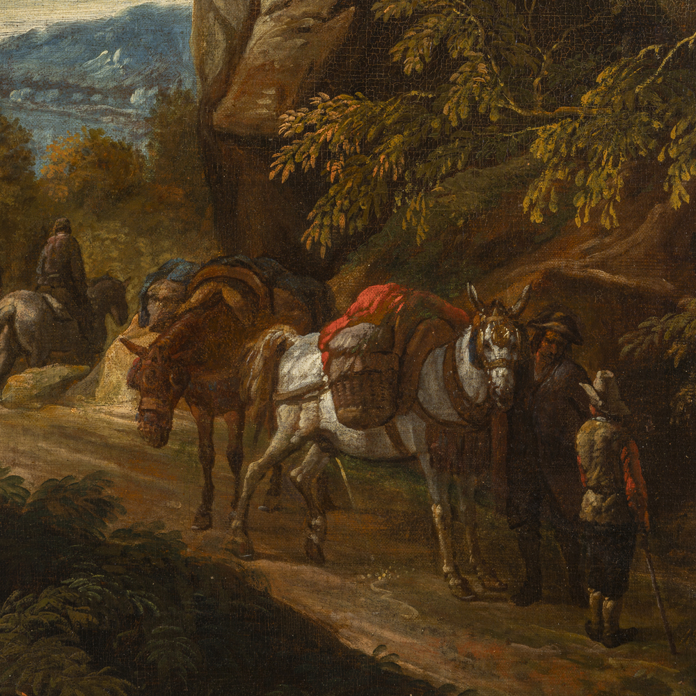Karel Dujardin (Amsterdam 1626 - Venezia 1678) attribuito - Image 2 of 2