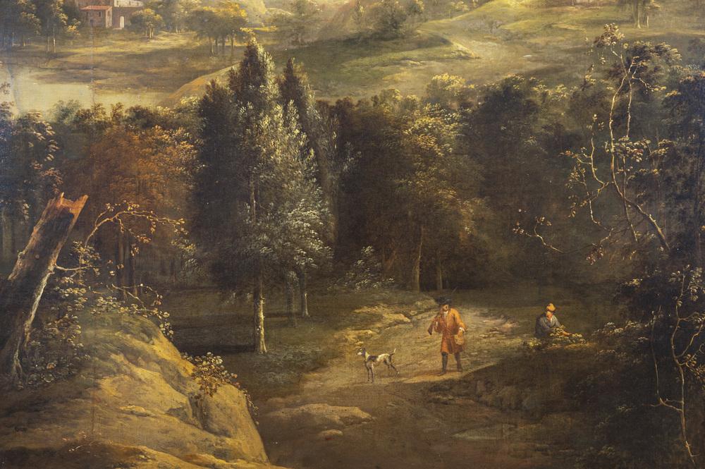 Paolo Anesi (Roma 1697 - 1773) cerchia di-circle of - Image 4 of 8