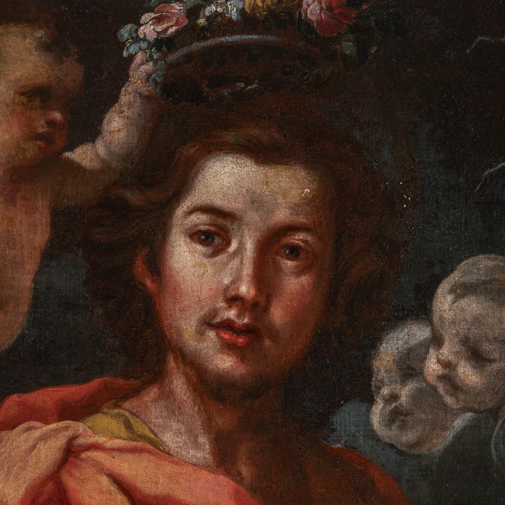 Bernardo Strozzi detto Il Prete Genovese (Genova 1581/82 - Venezia 1664) cerchia/seguace - circle of - Image 3 of 3