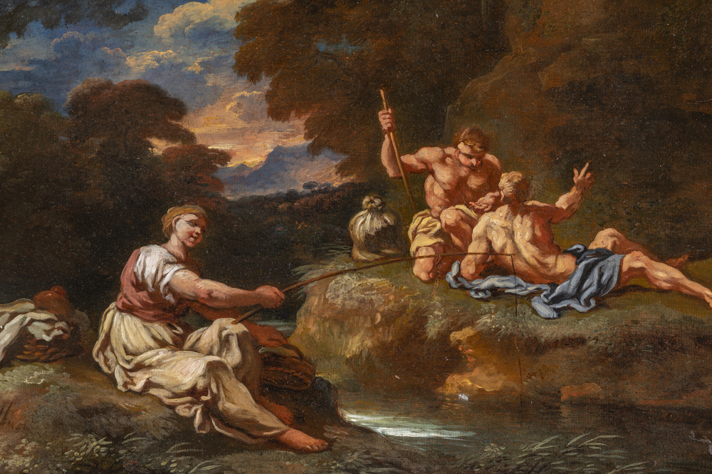 Carlo Antonio Tavella (Milano 1668 - Genova 1738) - Image 2 of 2