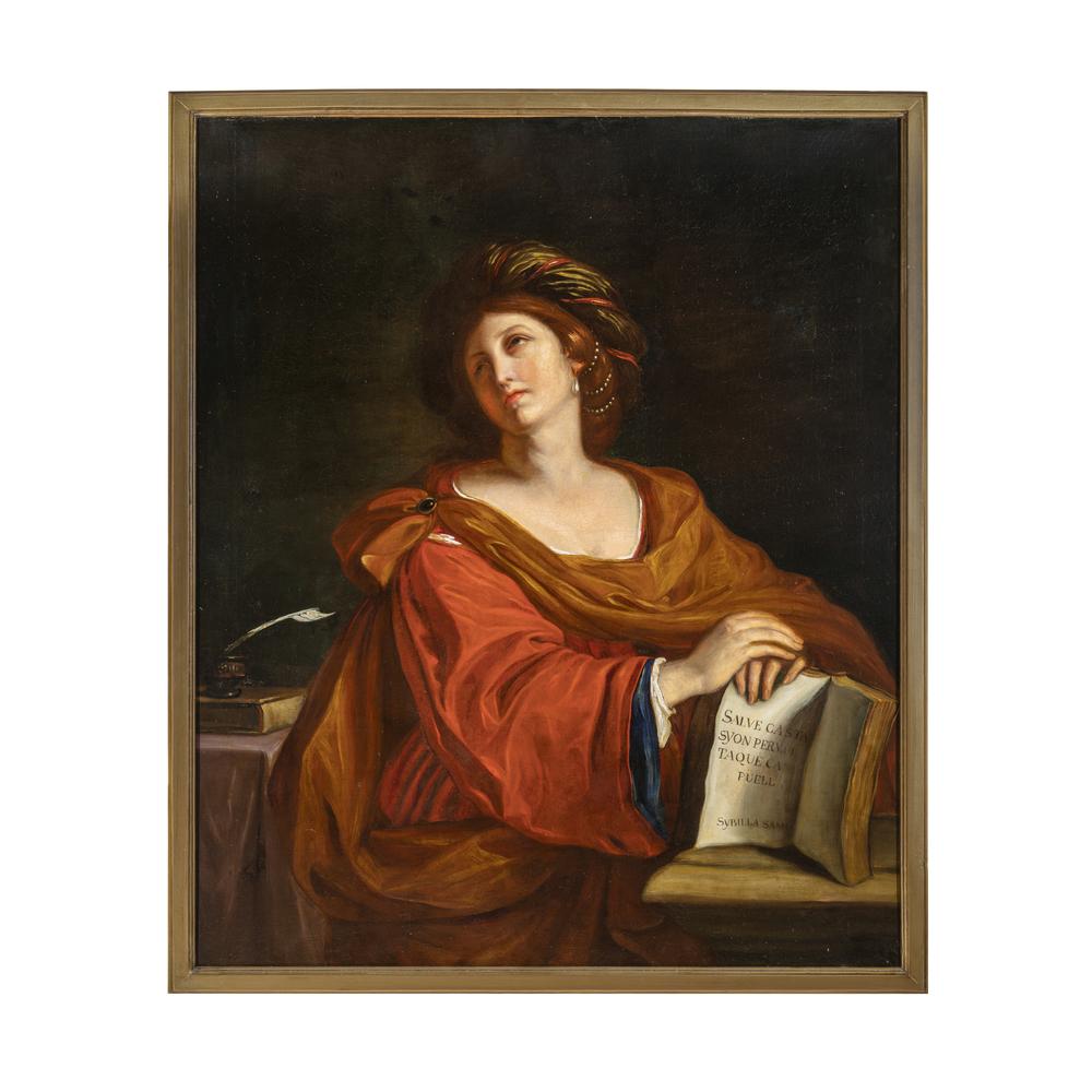 Giovanni Francesco Barbieri detto il Guercino (Cento1591 - Bologna 1666) copia da