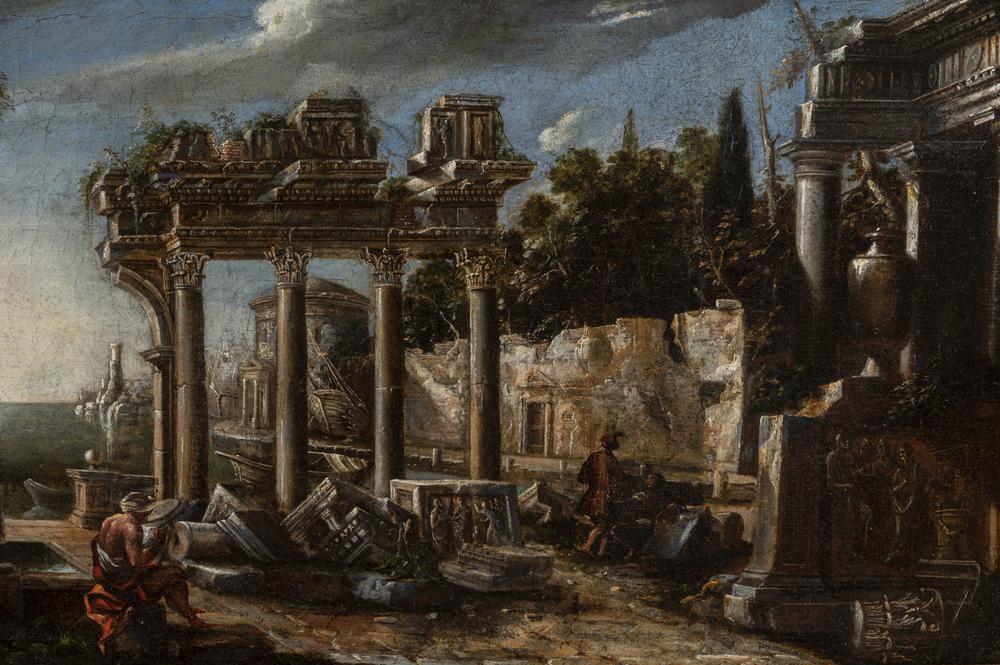 Viviano Codazzi (Bergamo 1603/04 o 1606 - Roma 1670) - Image 2 of 2