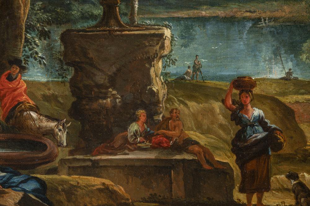 Scuola Romana XVII/XVIII secolo - Image 3 of 3