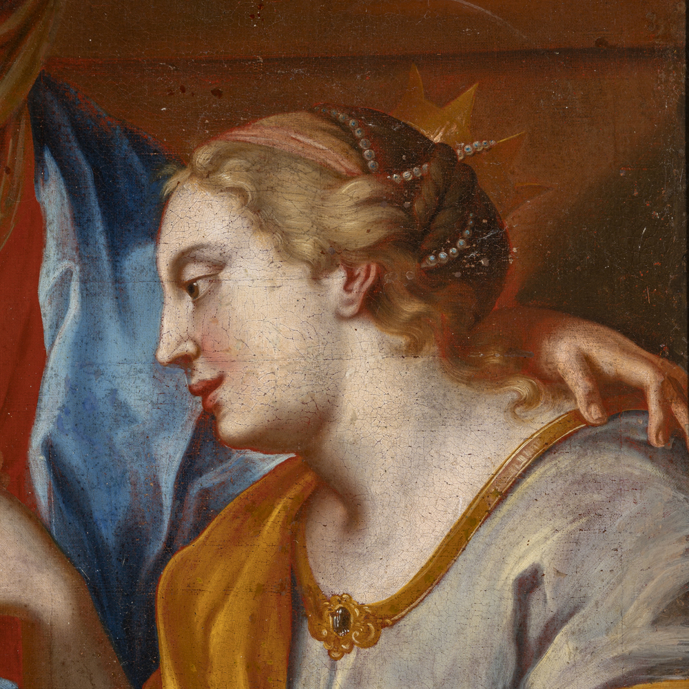 Francesco de Mura (Napoli 1696 - 1782) bottega - workshop - Image 3 of 3