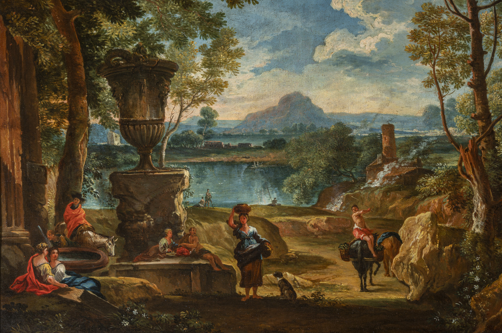 Scuola Romana XVII/XVIII secolo - Image 2 of 3