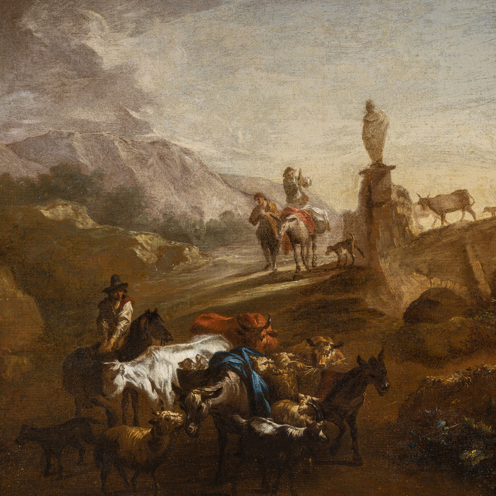 Scuola Olandese del XVII/XVIII secolo - Image 3 of 3
