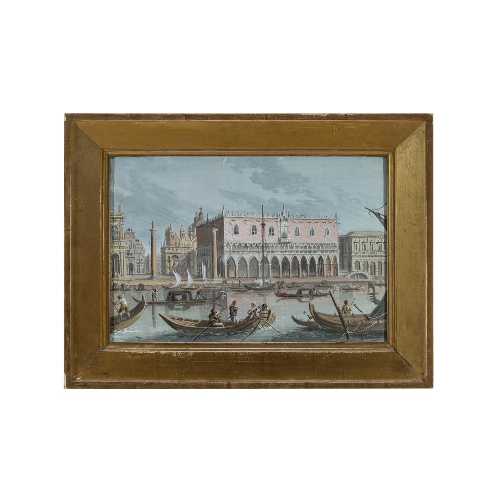 Scuola Veneziana del XIX secolo - Image 2 of 3