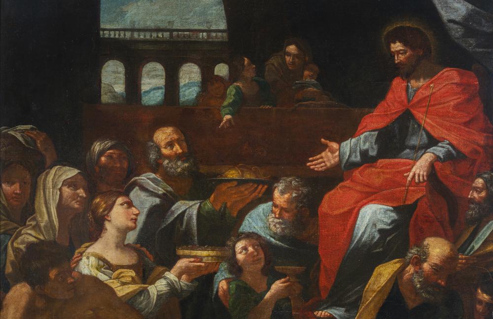 Guido Reni (Bologna 1575 - 1642) replica di bottega/seguace - workshop replica/follower - Image 5 of 5