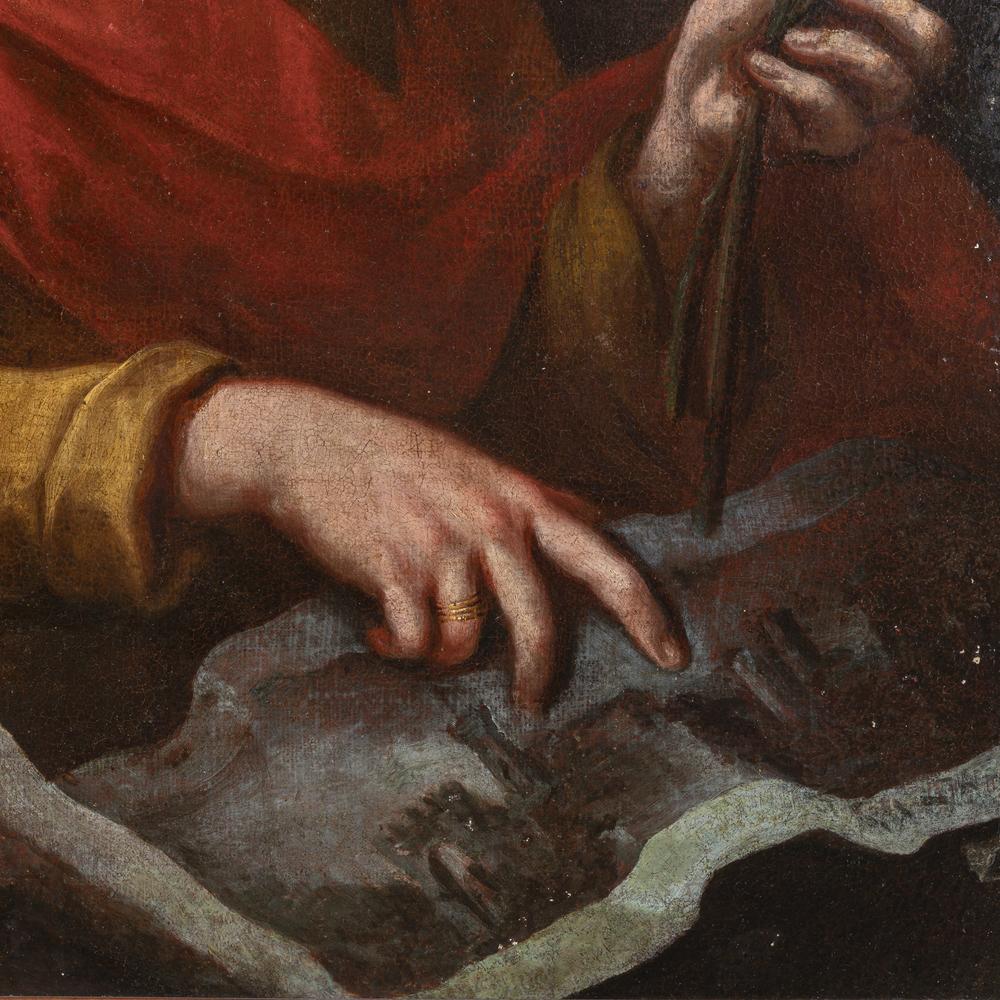 Bernardo Strozzi detto Il Prete Genovese (Genova 1581/82 - Venezia 1664) cerchia/seguace - circle of - Image 2 of 3