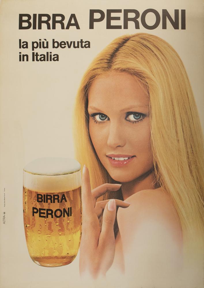 Birra Peroni. La più bevuta in Italia
