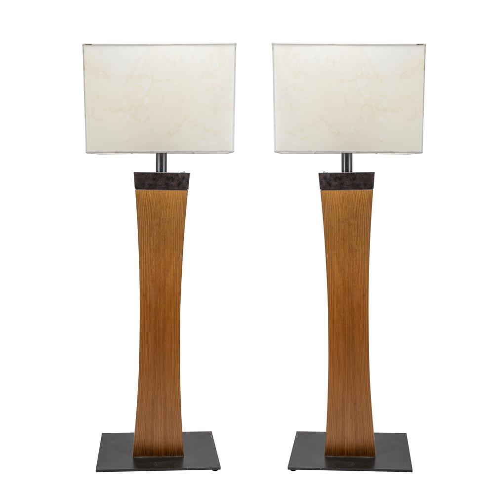 Coppia di lampade da terra