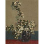 § ALICK RIDDELL STURROCK R.S.A. (SCOTTISH 1885-1953) JAPANESE STILL-LIFE
