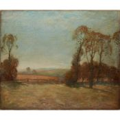 § ALICK RIDDELL STURROCK R.S.A. (SCOTTISH 1885-1953) WINTER SUNSHINE
