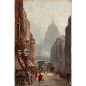 GEORGE HYDE POWNALL (AUSTRALIAN 1876-1932) FLEET STREET
